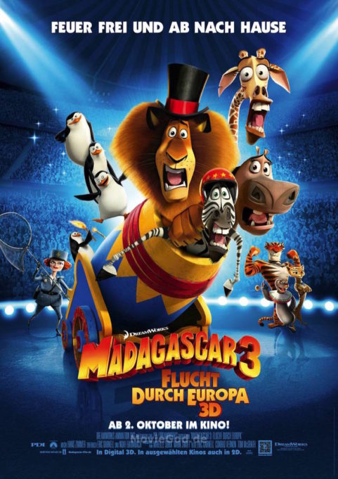 Madagascar 3: Flucht durch Europa (2012)
